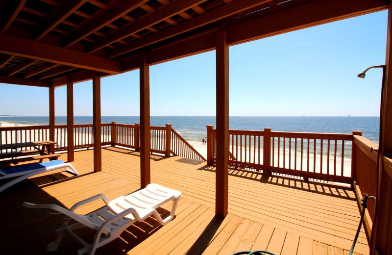Rental deck at Boardwalk Realty Inc.