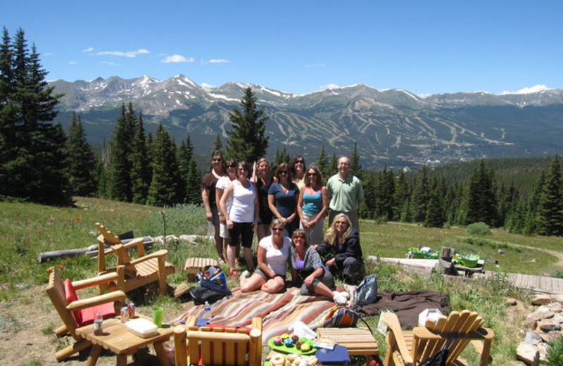 Family picnics at One Ski Hill Place.