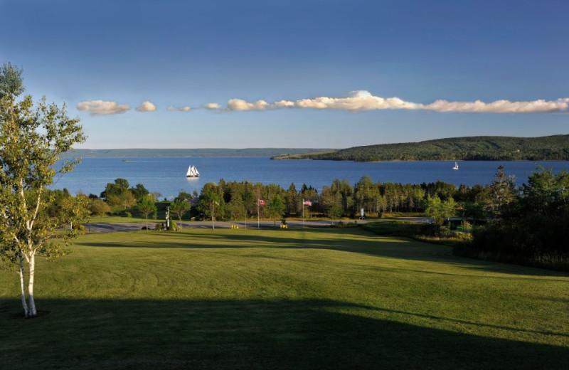 Lake view at Silver Dart Lodge