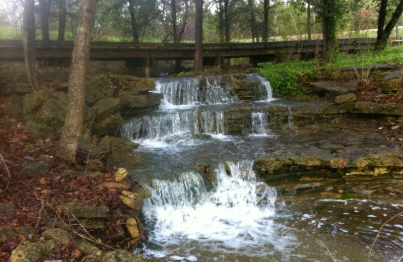 Waterfall at Thousand Hills Golf Resort.