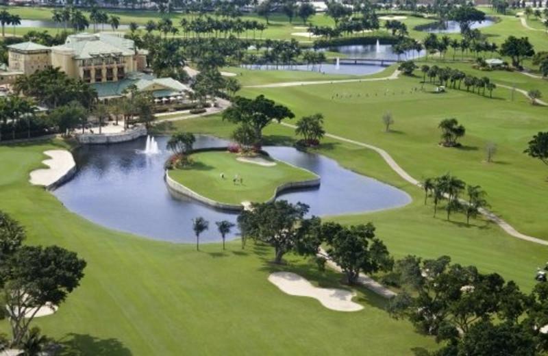 Golf course at The Westin Diplomat Resort.