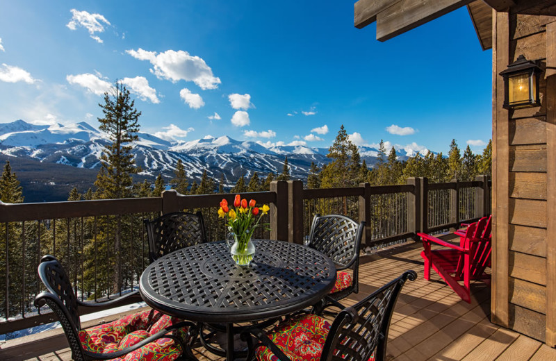 Rental deck at Pinnacle Lodging, Inc.