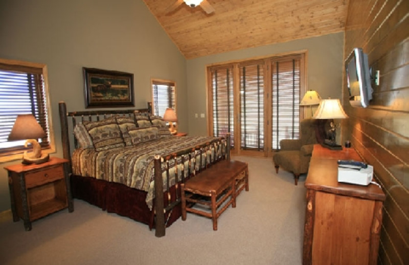 Guestroom at The Hideout Lodge & Guest Ranch.