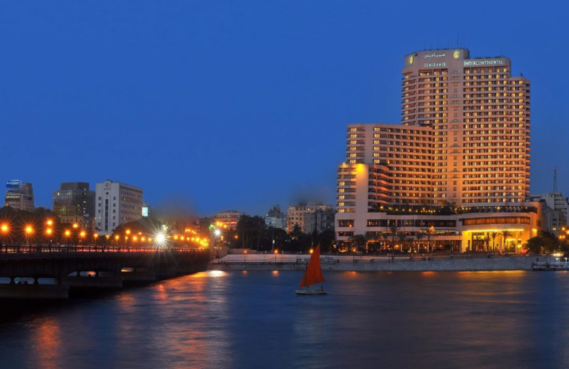 Exterior view of Semiramis Inter-Continental Cairo.