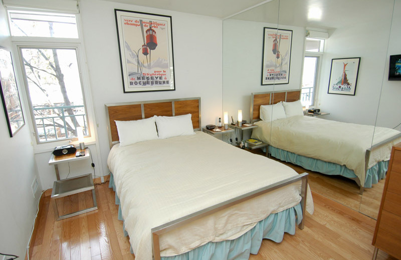 Rental bedroom at Frias Properties of Aspen - Fifth Avenue #5.