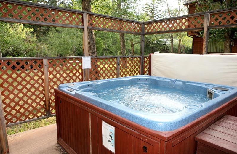 Condo jacuzzi at Bear Creek Vacation Condos.