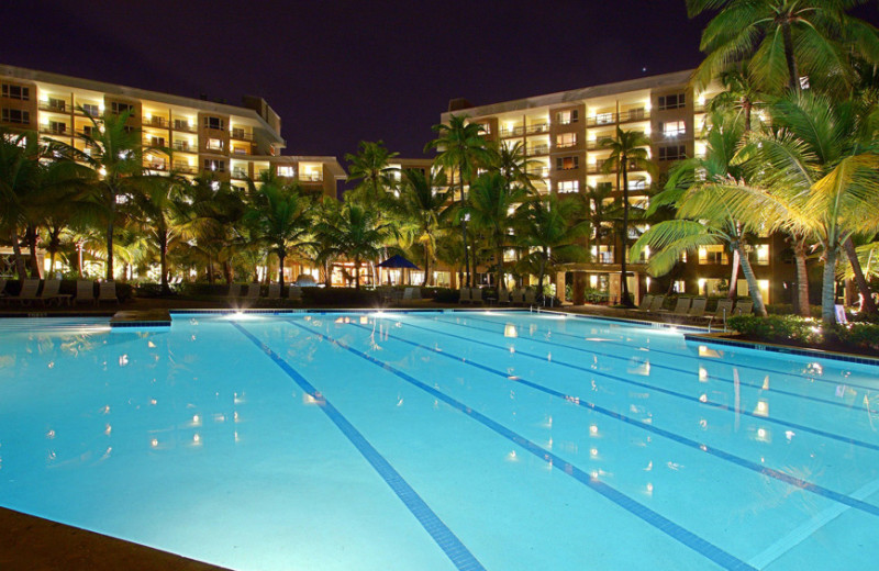 Outdoor pool at Hyatt Hacienda Del Mar.