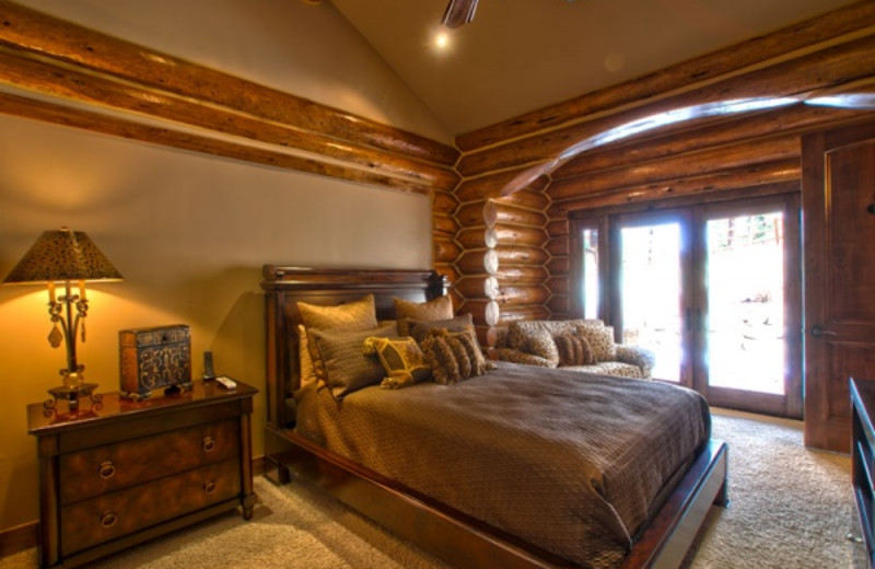 Rental bedroom at Pagosa Springs Accommodations.
