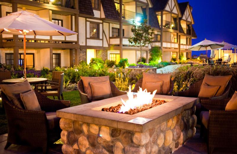 Firepit at the Carlsbad Inn Beach Resort