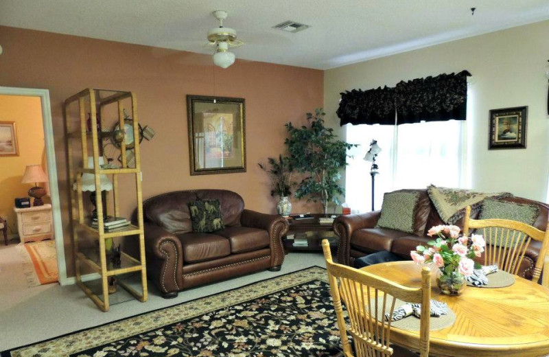 Carriage House suite interior at Magnolia Inn Bed & Breakfast.