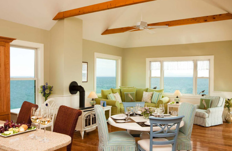 Suite Interior at The Samoset Resort