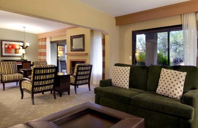Specialty suite dining and living room at Hilton Tucson El Conquistador Golf & Tennis Resort
