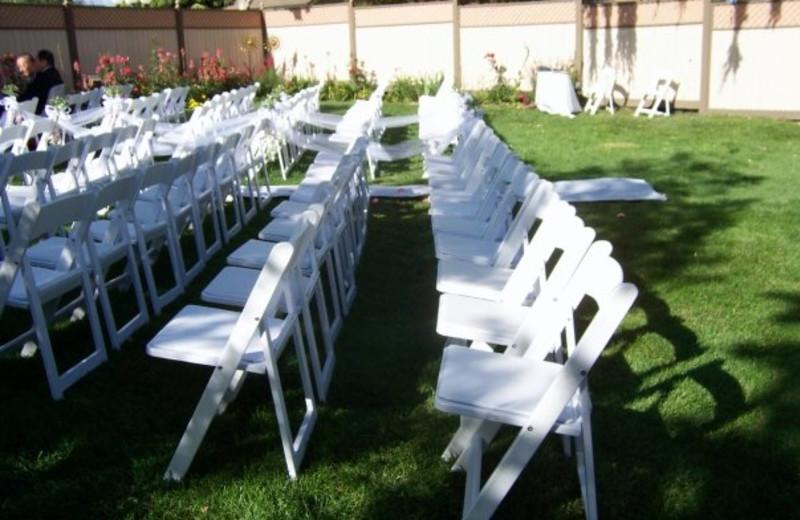 Wedding Decor at Santa Ynez Inn