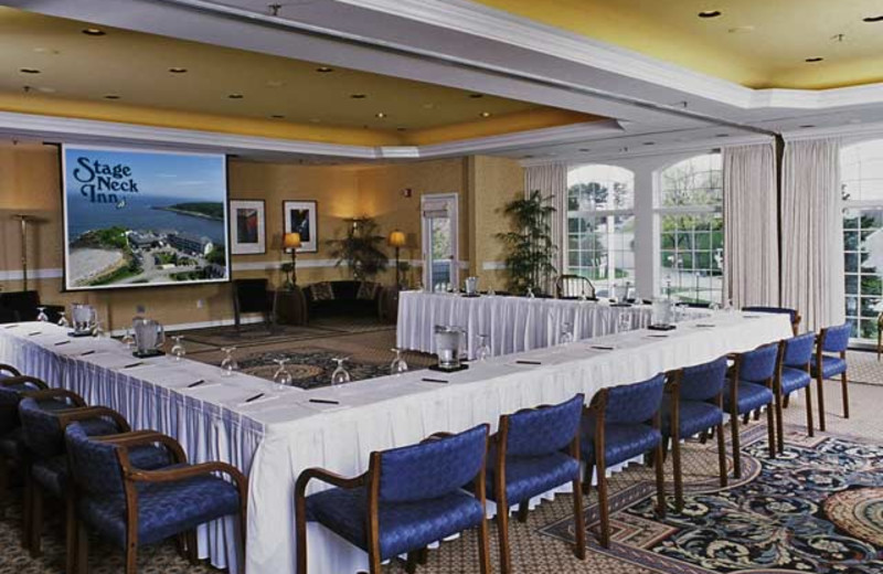 Conference room at Stage Neck Inn.