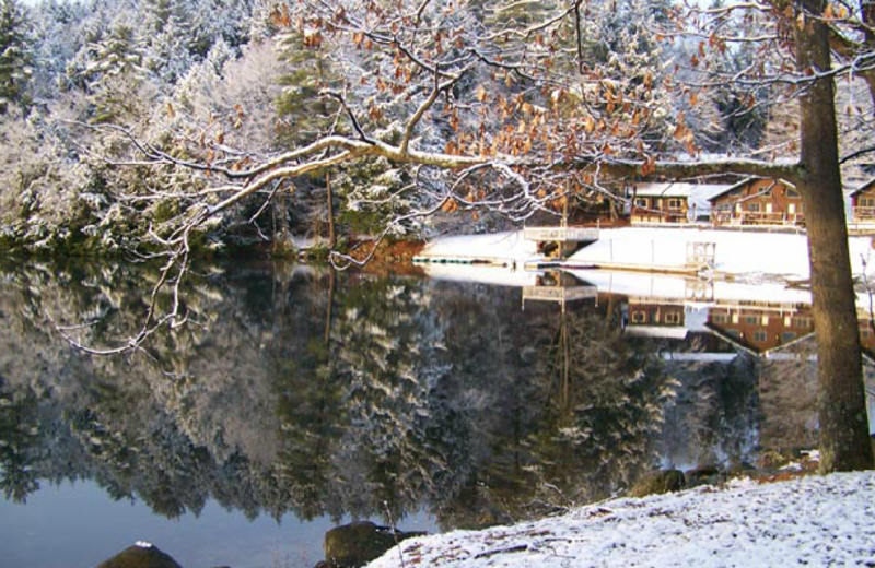 Winter time at Ridin-Hy Ranch Resort.
