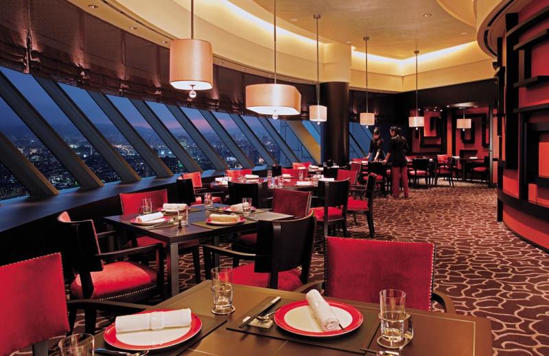Dining room at Shangri-La's Far Eastern Plaza Hotel.