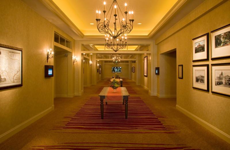 Hall at Hyatt Regency Lost Pines Resort and Spa.