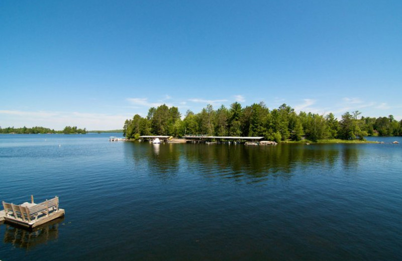 Lake View of Ludlow's Island Resort