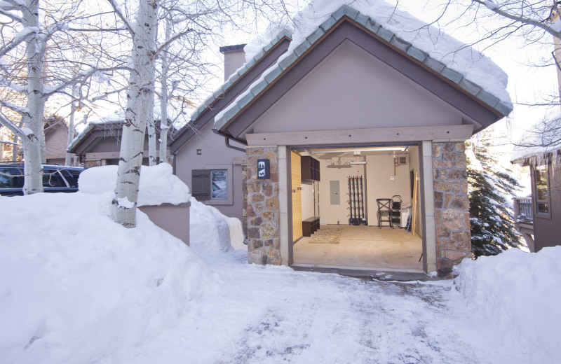 Rental garage at The Pines Lodge, A RockResort.