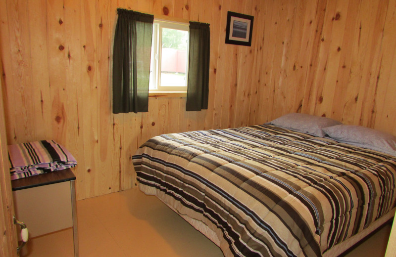 Cabin at Gold Pines Camp.
