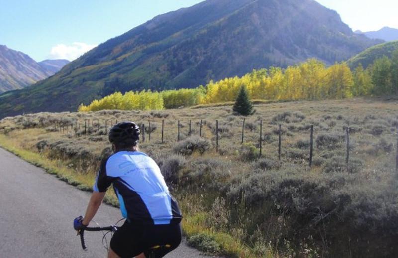 Biking at Sky Hotel