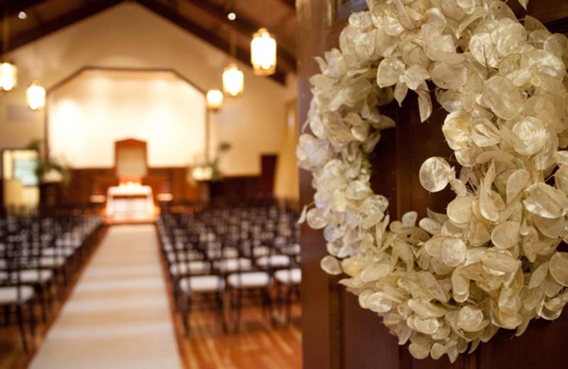 Wedding chapel at Cavallo Point Lodge.