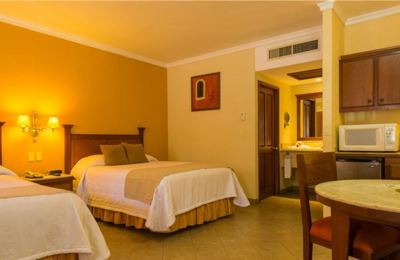 Guest room at Hotel Quinta del Sol by Solmar.