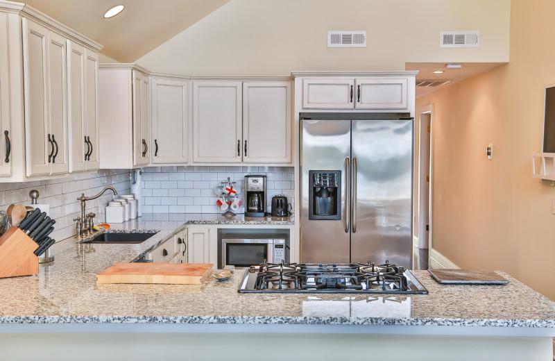Rental kitchen at Hampel Properties.