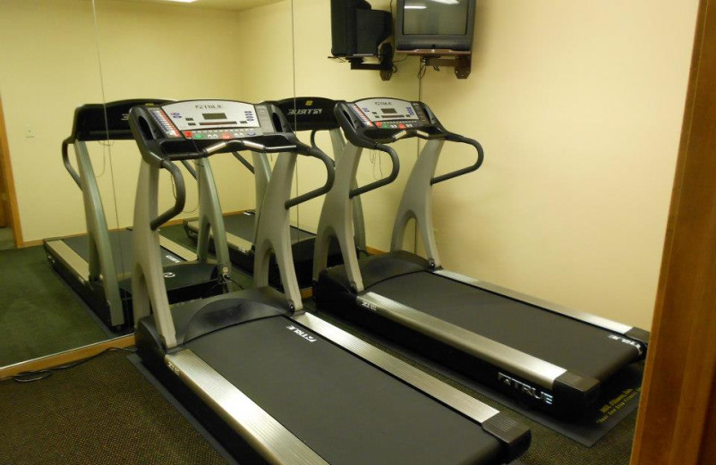 Fitness room at Homestead Suites.
