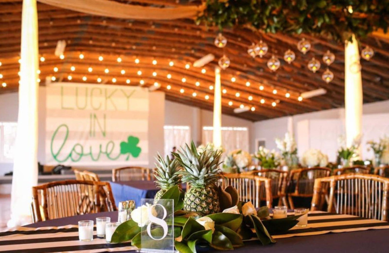 Weddings at Pirate's Cove Realty.