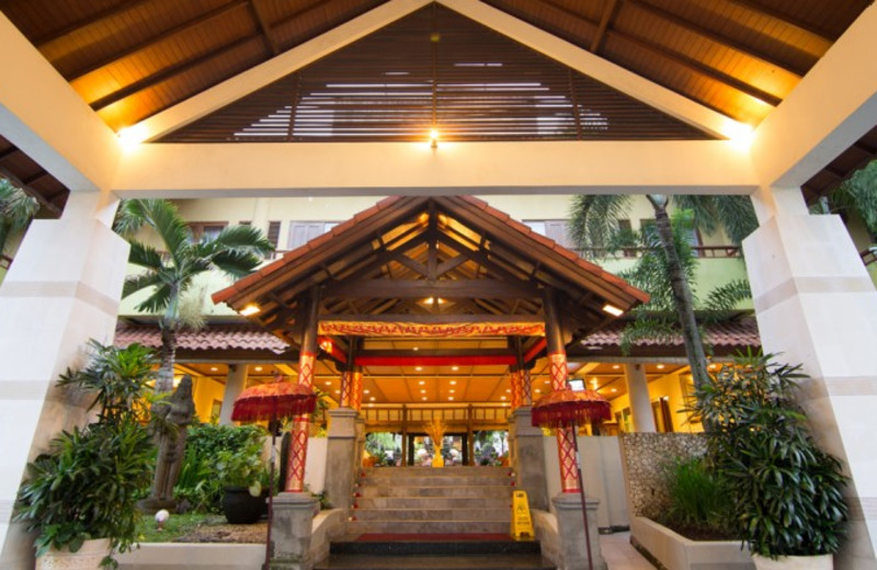 Entrance to Goodway Hotel Nusa Dua.