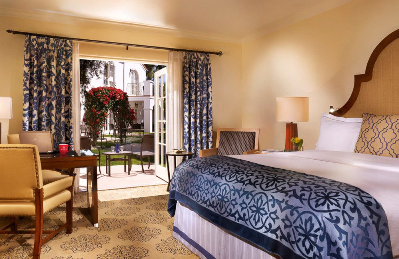 Guest room at La Costa.