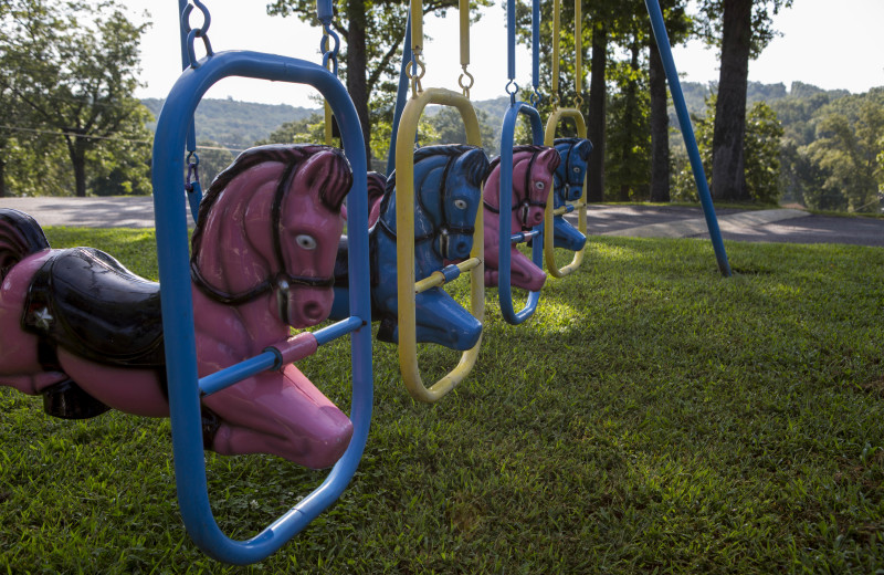 Playground at Bass Point Resort.