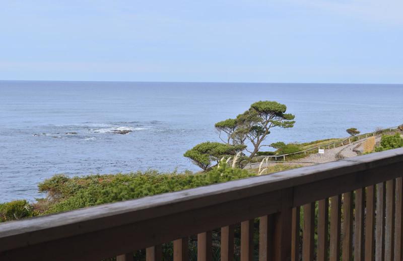 Balcony view at Surfrider Resort.