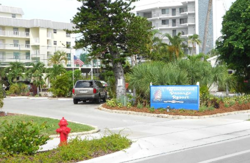 Exterior view of Windward Passage Resort.