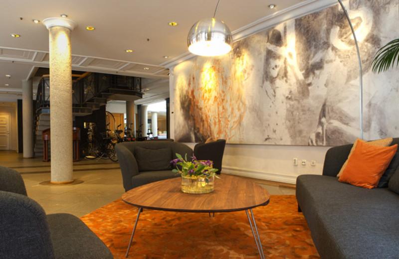 Lounge at Master Johan Hotel.