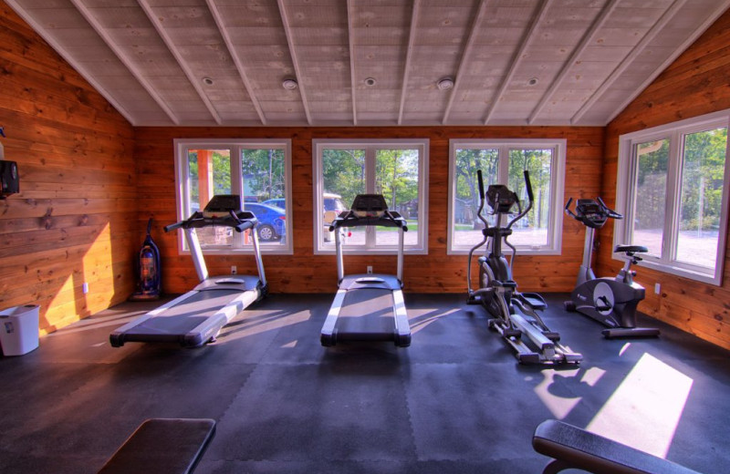 Fitness center at Great Blue Resorts- Lantern Bay Resort.