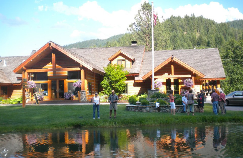 Fishing At Mountain Springs Lodge