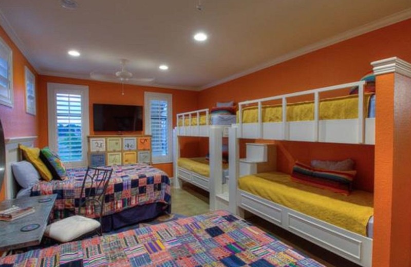 Bunk beds at Tuscany House.