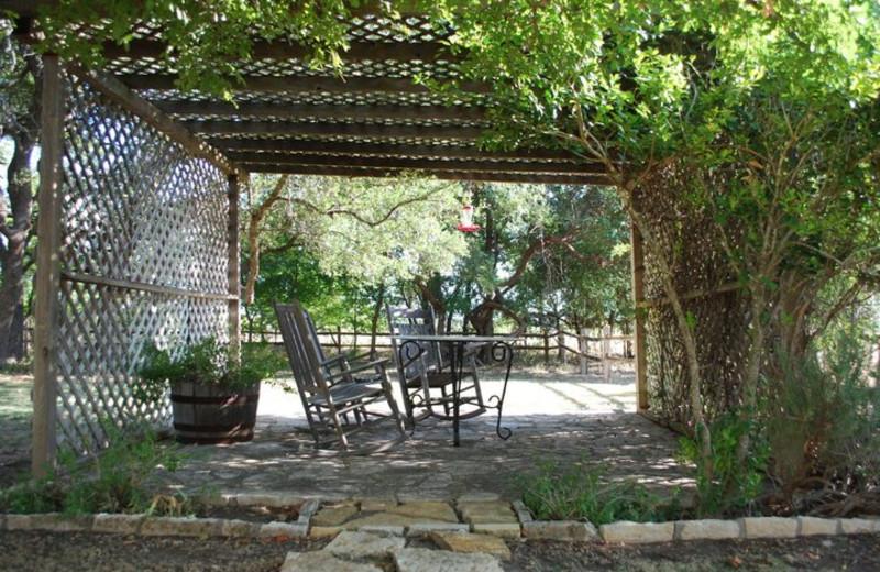Garden at Settlers Crossing.