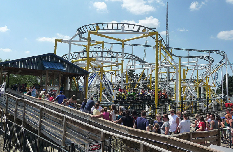 Motocoaster ride at Darien Lake Resort.