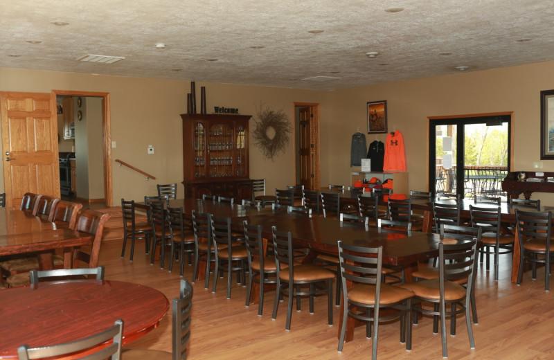 Meeting room at Granite Springs Lodge.