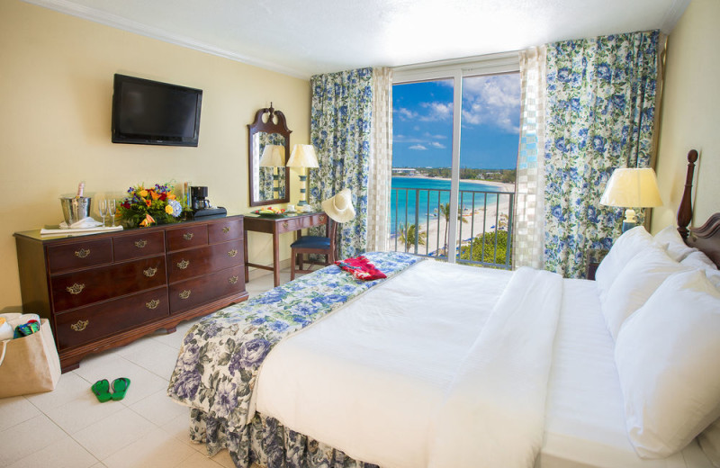 Guest room at Breezes Resort Bahamas All Inclusive.