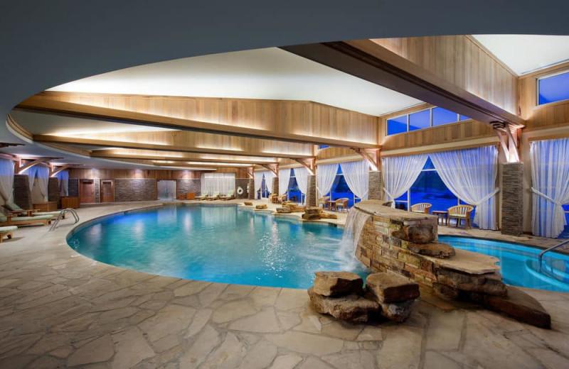Spa pool at Turning Stone Resort Casino.