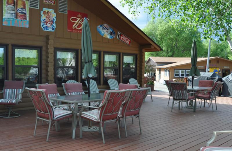 Deck at Ken-Mar-Ke Resort.