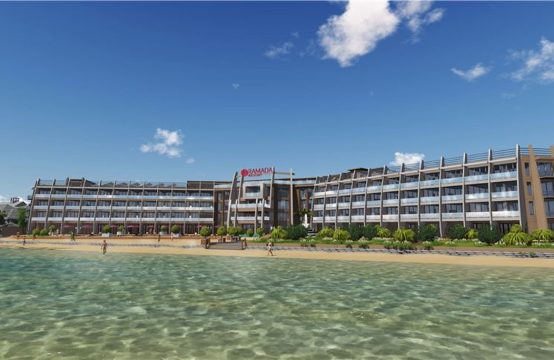 Exterior view of Ramada Resort Dar Es Salaam.