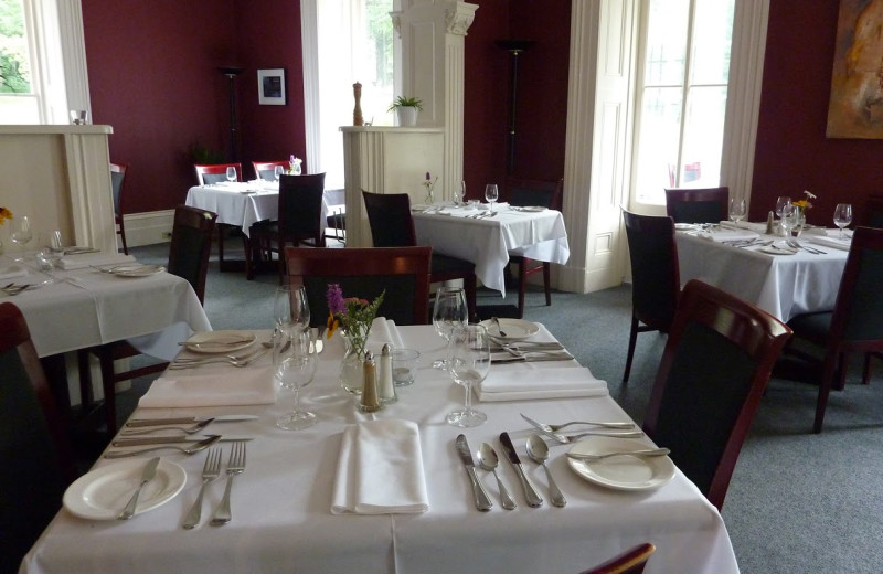 Dining at The Westover Inn.