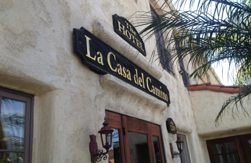 Exterior view of La Casa del Camino.