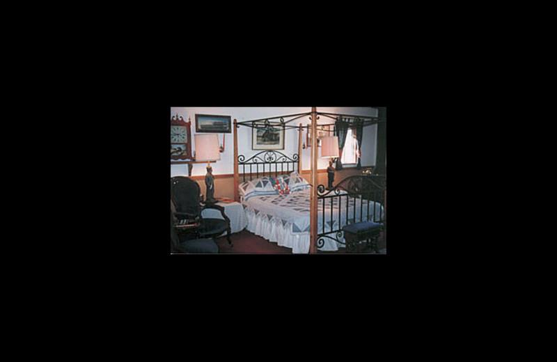 Guest room at Karrels' Double K Ranch.
