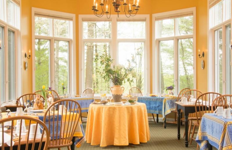 Dining at Stone Hill Inn.